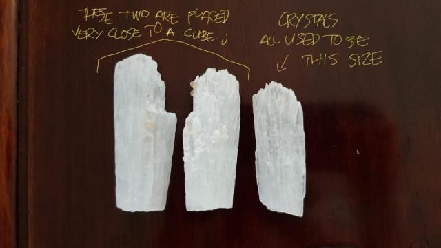 crystals (Maura's testi)